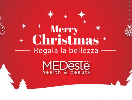 Christmas Card Natale regalo bellezza estetica